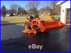 Kubota B2710HST Loader tractor