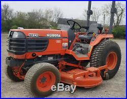 Kubota B2710 4x4 72 Mower TRACTOR Hydrostatic 72 Inch Deck ie B2910 B7800 BX2660