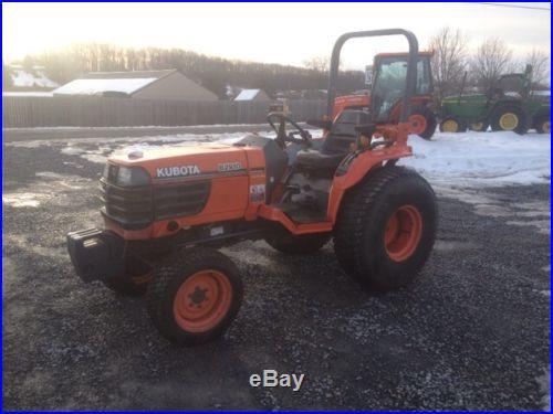 Kubota B2910 4x4 Hydro Compact Tractor W/ 1600hrs