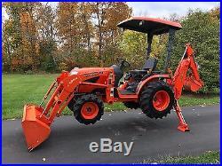 Kubota B2920 Tractor LA364 Loader BH65 Backhoe