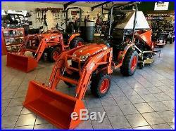 Kubota B2920 Tractor Loader Land Pride Rear Finish Cut 60 25-60 B-Series Diesel