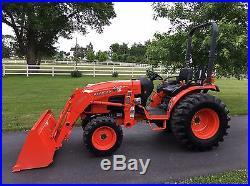 Kubota B3300SU Tractor Loader 4x4 Hydrostatic 83 Hours
