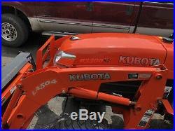 Kubota B3300SU Tractor With Loader And 5ft Finish Mower