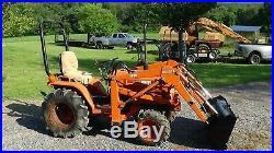 Kubota B7200 4x4 Tractor With Loader