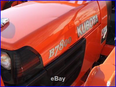 Kubota B7800 HSD-F Tractor