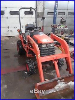 Kubota BX1500 Diesel Loader