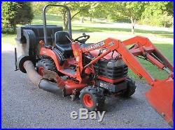 Kubota BX2200 Tractor withLA211 Loader