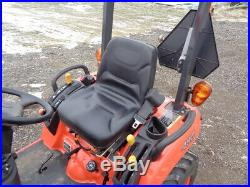 Kubota BX2360 Tractor, 4WD, Hydro, LA243 Front Loader, R4 Tires, 227 Hours