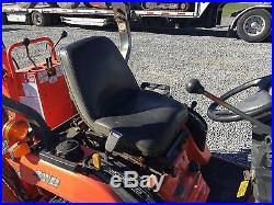 Kubota BX23 4x4 Compact Tractor Loader Backhoe