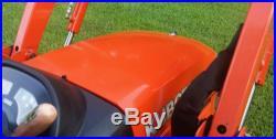 Kubota BX24 Tractor Loader Backhoe
