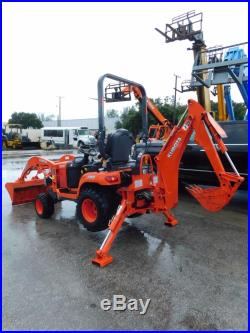 Kubota BX25D Farm tractor backhoe and loader