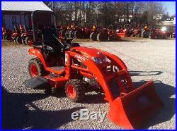 Kubota BX2660 tractor loader and mower