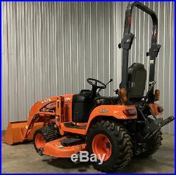 Kubota BX2670 4x4 Loader TRACTOR Hydrostatic Mower bx2660 bx2370 bx2