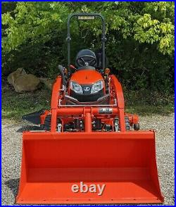 Kubota BX2680 with Loader & 60 Mower Deck Only 127 Hours! Athens, OH