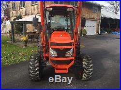 Kubota Grand L4240 Diesel Tractor, Cab, 44 HP, 4x4, Hydro, 472 Hrs, LA854 Loader