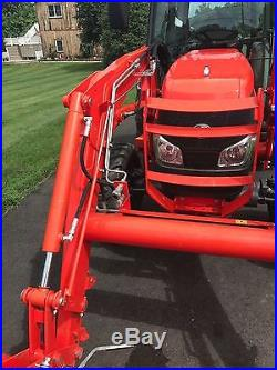 Kubota Grand L4240 Tractor, 2011, Cab, 285 Hrs, 4x4, 44HP, Loader, Excellent
