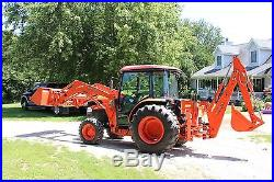 Kubota Grand Series L4240 Diesel Cab Tractor, Loader, Backhoe