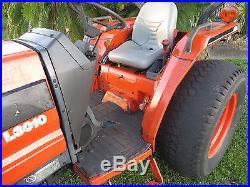 Kubota L3010DT Tractor Diesel 4x4 3926 hrs Runs Good Looks Bad Needs TLC