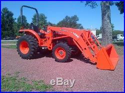Kubota L3200 tractor loader only 42 hours