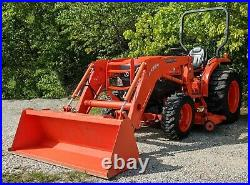 Kubota L3240 with LA724 Loader & 72 Mower Deck Athens, OH. Only 603 Hours