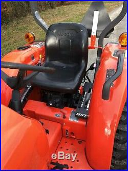 Kubota L3301 Tractor 4WD 33HP Low Hours Diesel PTO Loader Farm