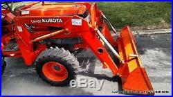 Kubota L3410 Tractor 4WD 35HP Diesel LA482 Loader 1750Hrs Canopy Roof NICE! 4x4 & Kubota L3410 Tractor 4WD 35HP Diesel LA482 Loader 1750Hrs Canopy ...