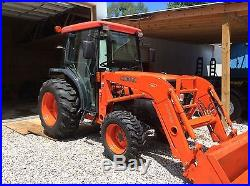 Kubota L3430 4x4 tractor (488 hours)