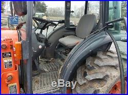 Kubota L3430 Tractor Cab 4x4 Loader 1600 Hrs