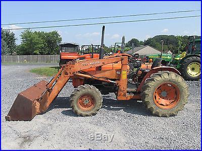 Kubota L355SS 4x4 Compact Tractor W/ Loader