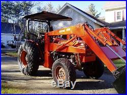 Kubota L355 SS 35hp 4 cylinder diesel 4x4 /loader