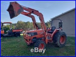 Kubota L3600 Tractor 4x4 Loader 2200 Hours