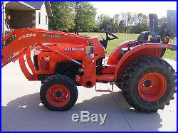 Kubota L3800 Tractor Less than 100 hours