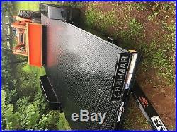 Kubota L3830F/loader 2003 with 2017 Brimar trailer for sale