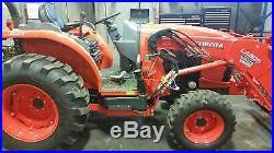 Kubota L4060 tractor loader only 80 hours