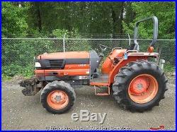 Kubota L4310 4x4 Ag Utility Tractor 3PT Hitch PTO Hydrostatic Diesel bidadoo
