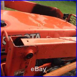 Kubota Loader Tractor M5700 Loader Grapple Bush Hog And Boxblade, Trailer Extra
