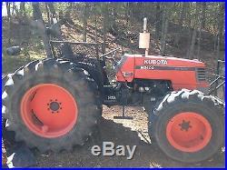 Kubota M5400 4x4 Diesel Tractor, Low Hours 1500,56hp