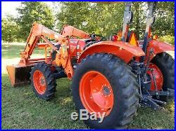 Kubota M5660 4x4 loader tractor, FREE DELIVERY