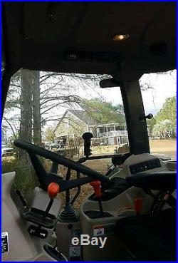 Kubota M6060 Cab Tractor Loader Grapple Bucket