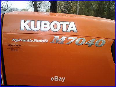 Kubota M7040 4 WD
