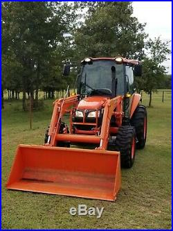 Kubota M7060 4x4 loader tractor, FREE DELIVERY