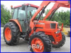 Kubota M9000 Diesel Farm Tractor WithLoader & Cab