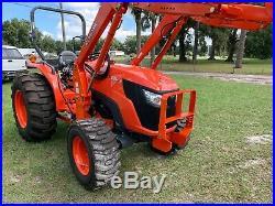 Kubota MX5200 tractor loader
