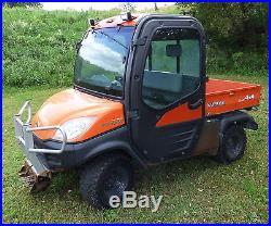 Kubota RTV1100 Utility Vehicle Diesel Engine Enclosed Cab Hydraulic Dump UTV