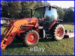 Kubota Tractor M100gx 4x4 With A La1954 Loader