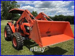 Kubota Tractor M6040