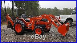 Kubota Tractor with backhoe attachment and front end loader free delivery