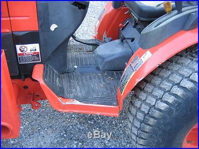 Kubota b3030 4x4 hst turf tires No reserve 60 bucket 1344 hours 2009