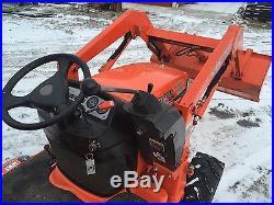 Kubota compact tractor, subcompact tractor, BX2230 Kubota TLD