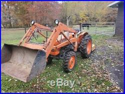 Kubota l245dt tractor 4x4 diesel with loader